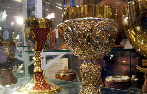 We will be leaving the woman one golden cup!